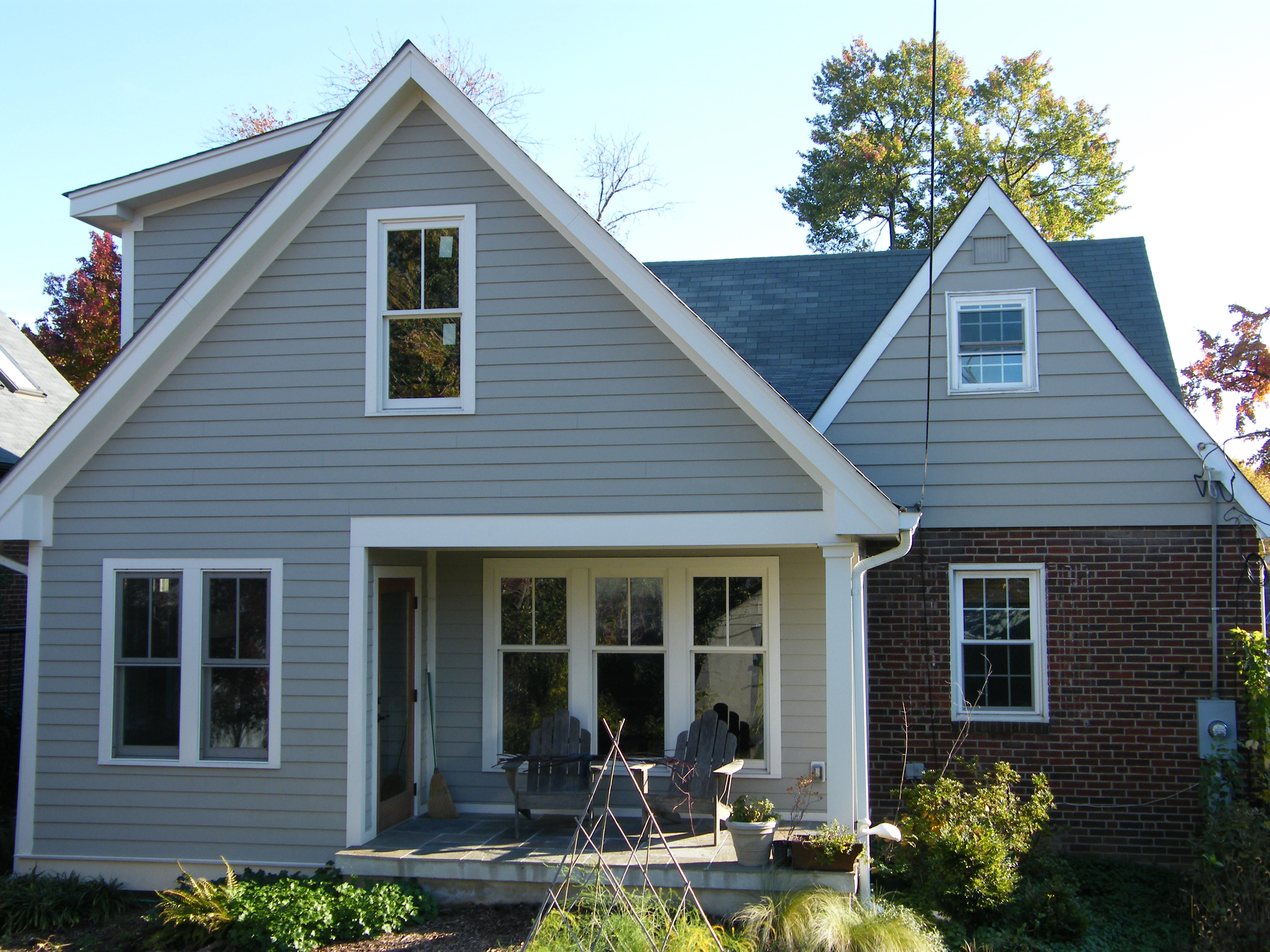 two-story addition to a classic arlington cape | the cedar run
